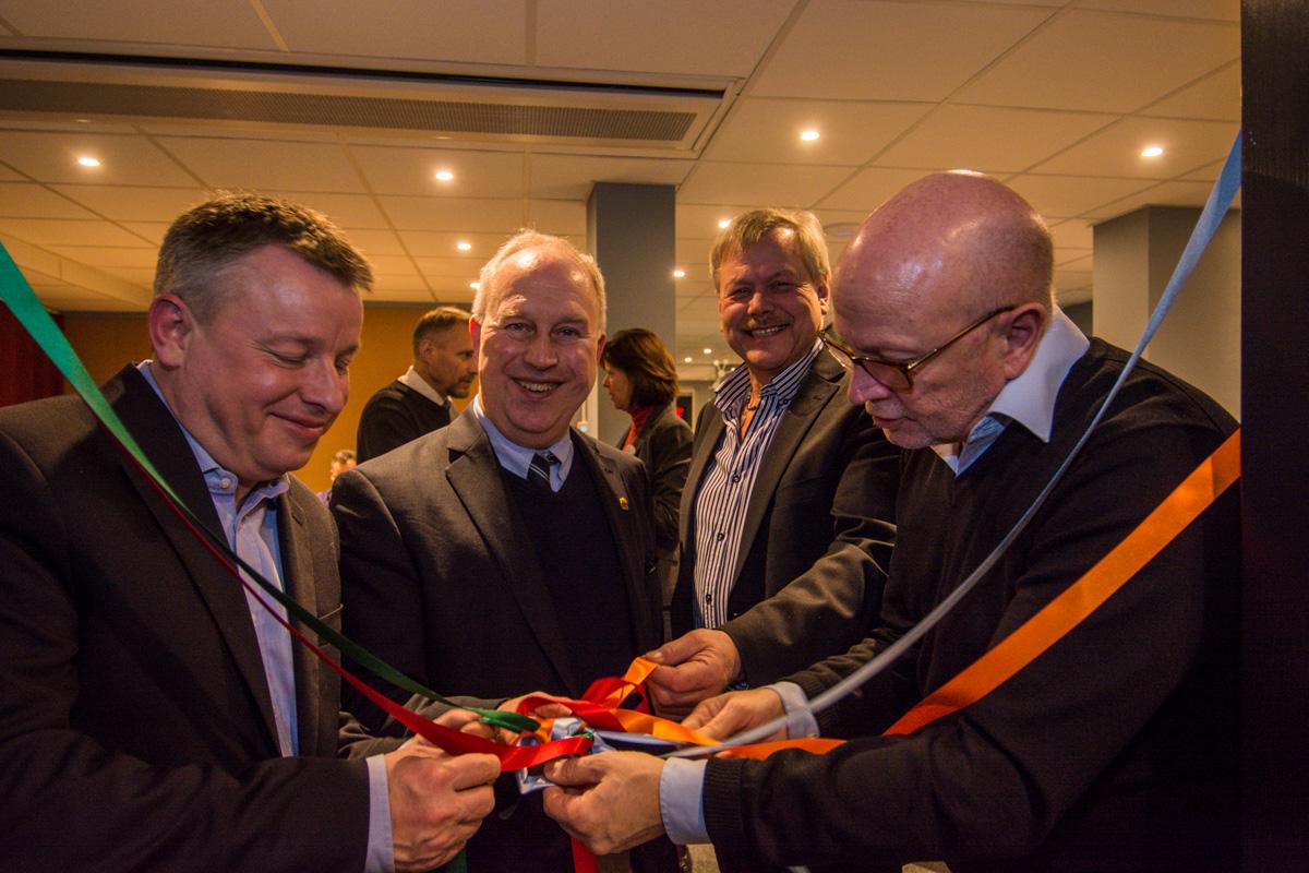 Invigning av Järvsö Workspace av landshövding Per Bill